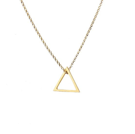 Colgante Gold triangle