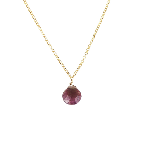 Colgante Tourmaline Drop